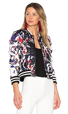 Claude Combo Jacket in Black Waterlily