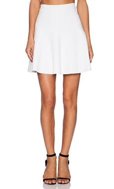 Parker Seda Knit Skirt in Ivory