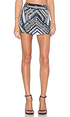Parker Corsica Embellished Skirt in Polaris