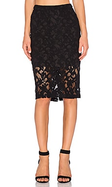 Parker Sandia Skirt in Black
