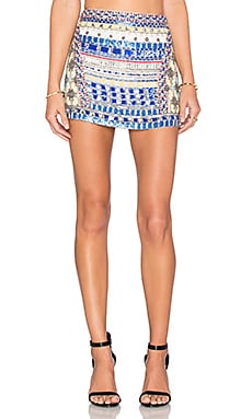 Corsica Embellished Skirt in Multi
