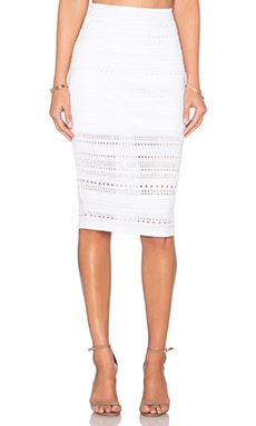Woodbury Skirt in White