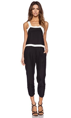 Parker Toledo Combo Jumpsuit in Black