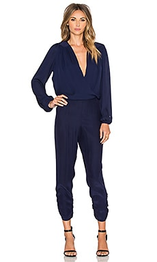 Parker October Combo Jumpsuit in Petrol