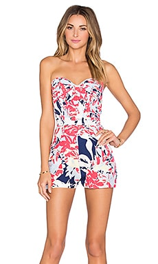 Sutton Romper in Gardenia