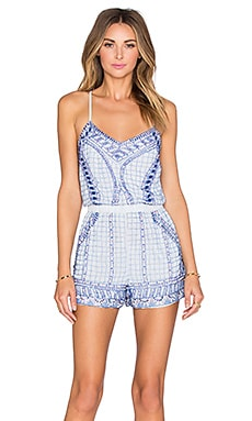 Scout Embellished Romper in Multi