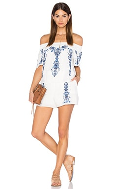 Kaling Romper in White