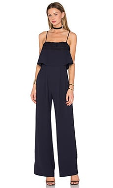 Genevieve Jumpsuit in Midnight