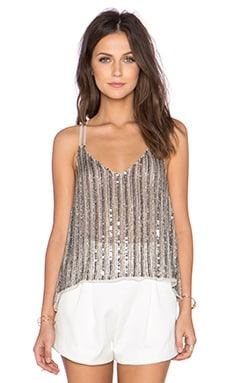 Parker Knox Embellished Tank in Pebble
