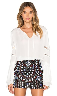 Hadley Blouse in Ivory