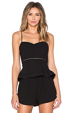 Parker Mora Top in Black