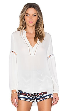 Parker Nirvana Blouse in Ivory