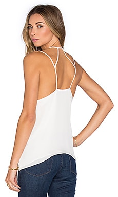 Parker Paradise Tank in White