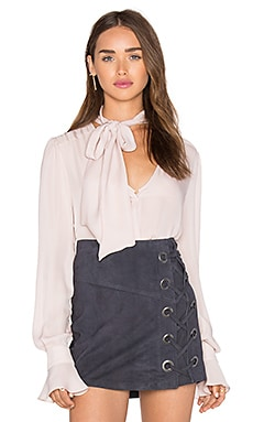 Parker Brielle Blouse in Moonlight