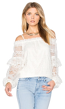 Jordanna Blouse in Ivory