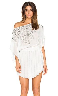 Beach Sunset Embellished Cover Up