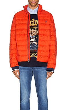 Lightweight Packable Down Jacket Polo Ralph Lauren $160