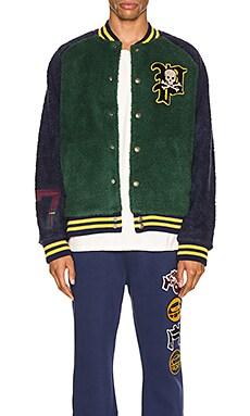 Sherpa Varsity Jacket Polo Ralph Lauren $209