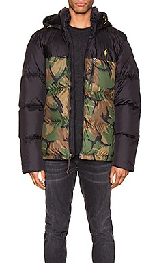 Polyester Down Jacket Polo Ralph Lauren $368