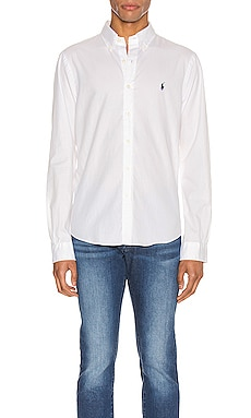 GD Chino Long Sleeve Button Up Shirt Polo Ralph Lauren $99