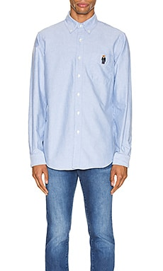 Long Sleeve Oxford Shirt Polo Ralph Lauren $99