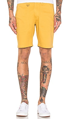 Publish Kea Shorts in Mustard