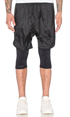 Publish Mono Crete Shorts in Black