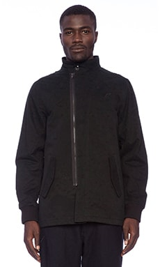 Publish Bolt Jacket in Black Camo