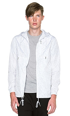Publish Jupiter Jacket in White & 3M
