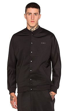 Publish Mono Crater Jacket in Black