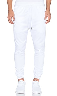 Publish Mono Cordova Mesh Jogger in White
