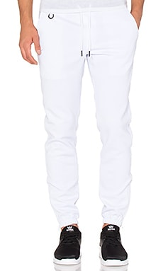 Publish Zip Sprinter Jogger in White