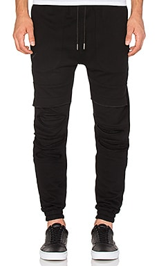 Publish Lowell Sweat Jogger in Black