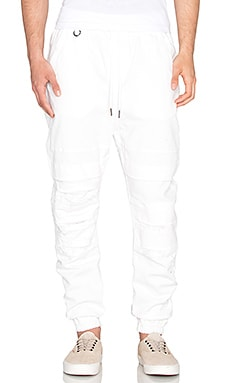 Publish Shooter Jogger in White