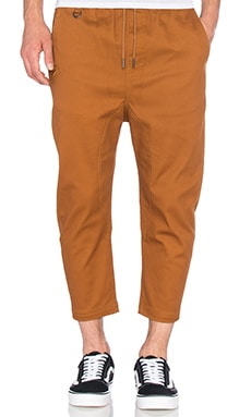 Publish Slash 3/4 Pant in Rust