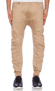 Kelson Jogger in Tan