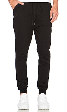 Publish Argo Fleece Pant in Black