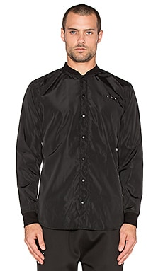 Publish Mono Corvus Button Down in Black
