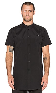 Publish Mono Draco Button Down in Black