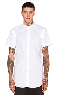 Publish Mono Draco Button Down in White