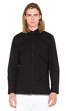 Publish Cedar Button Down in Black