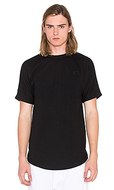 Publish Grim Knit Tee in Black