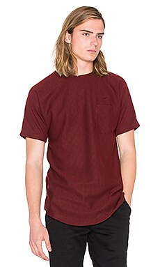 Publish Grim Knit Tee in Maroon