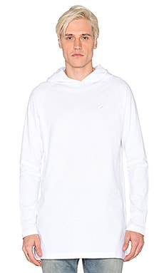 Publish Crest L/S Tee in White