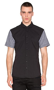 Publish Hans Button Down in Black