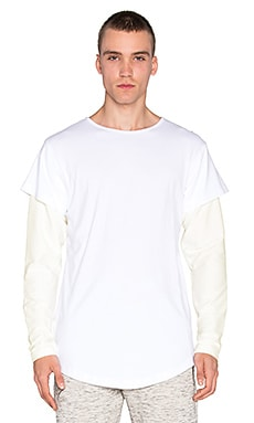 Publish Vitale L/S Tee in White