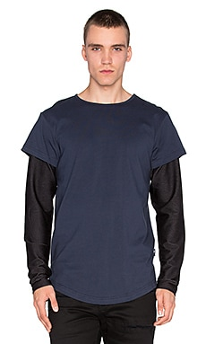 Publish Vitale L/S Tee in Navy