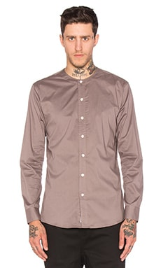 Publish Andie Button Down in Charcoal