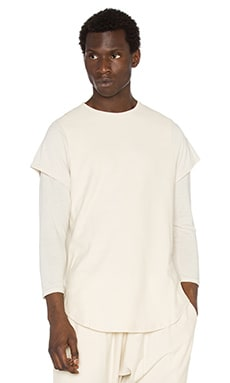 Publish Mono Melas L/S Tee in Natural