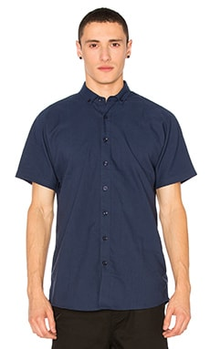 Galo Button Down in Navy